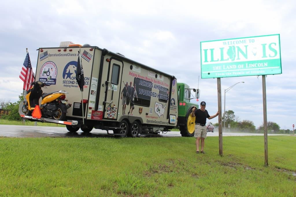 May 26: 83 miles Winamac to Watseka, IL
