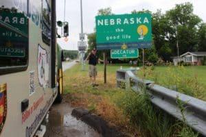 June 18th Battle Creek to Lyons, NE – 69 Miles