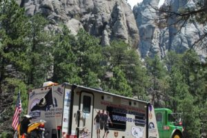 June 28 Hot Springs to Mt. Rushmore, SD – 60 Miles