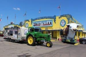 August 13 Dumas to Amarillo, TX