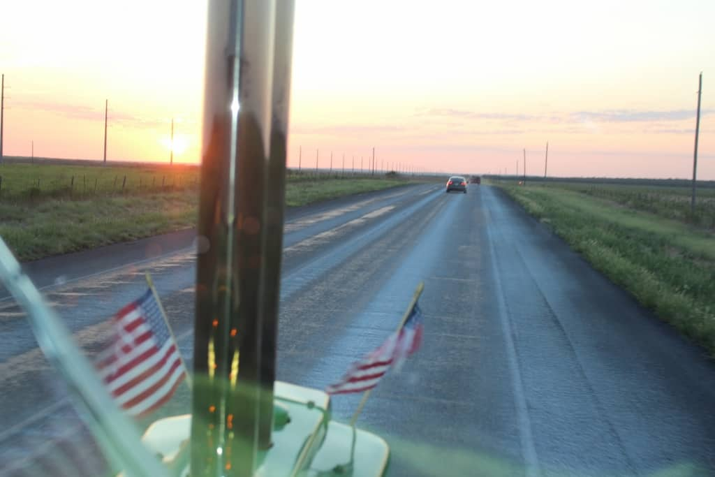 August 20 Matador To Crowell, TX – 70 Miles