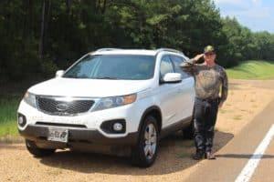 Sept. 15-16 Natchez to Monticello, MS – 84 Miles